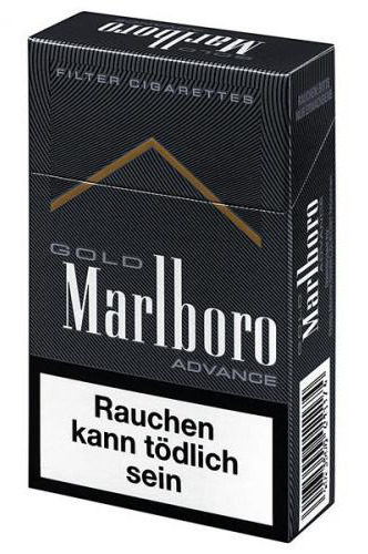 marlboro gold advance zigaretten tabak and more. Black Bedroom Furniture Sets. Home Design Ideas