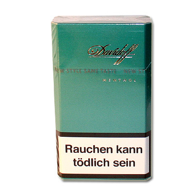 davidoff menthol zigaretten tabak and more. Black Bedroom Furniture Sets. Home Design Ideas