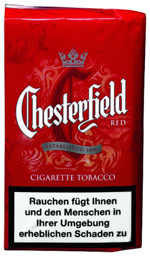 Chesterfield Red 36g Zigarettentabak Tabak And More