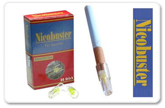 nicobuster filter 1er zigarettenfilter tabak and more. Black Bedroom Furniture Sets. Home Design Ideas