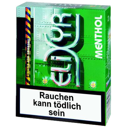 elixyr menthol big pack zigaretten tabak and more. Black Bedroom Furniture Sets. Home Design Ideas