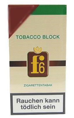 f6 full flavor tobacco block 2x21g zigarettentabak tabak and more. Black Bedroom Furniture Sets. Home Design Ideas