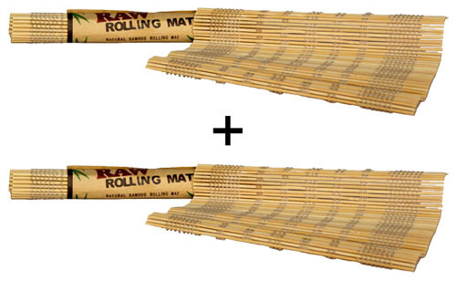 Raw natural bamboo rolling mat 2er rotation help for Schneider miltenberg