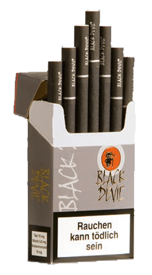 Devil zigaretten deutschland black Zigarettenmarkenliste