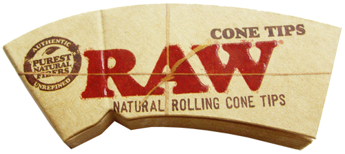 "RAW® Cone Tips ""Perfecto"" King Size 32 Blatt / 1er (Zigarettenfilter)"