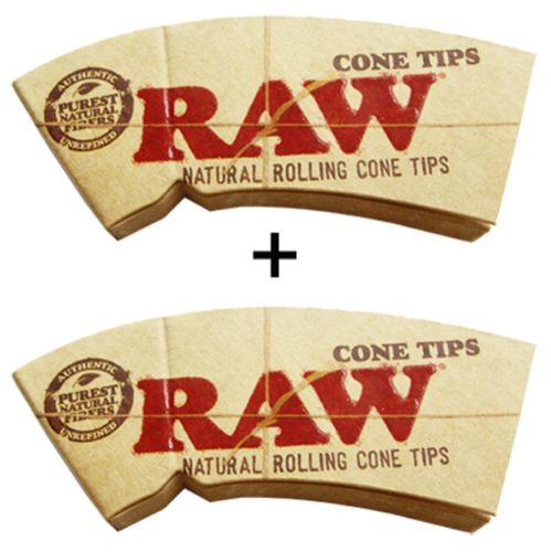 "RAW® Cone Tips ""Perfecto"" King Size 32 Blatt / 2er (Zigarettenfilter)"