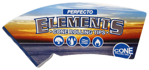 "ELEMENTS® Cone Tips ""Perfecto"" King Size 32 Blatt / 1er (Zigarettenfilter)"