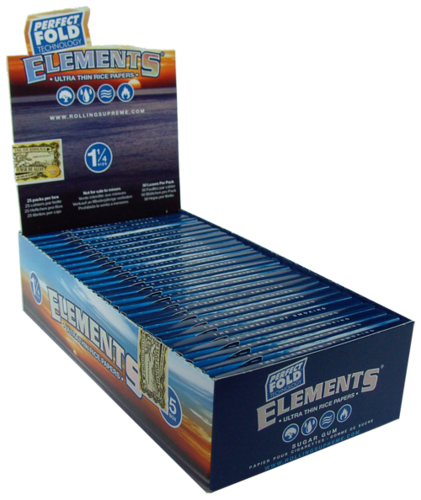 ELEMENTS® Perfect Fold 1¼ Size 50 Blatt / 25er (Zigarettenpapier)