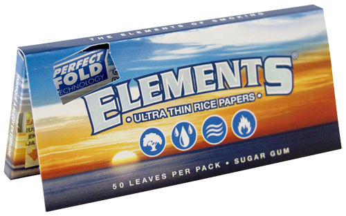 ELEMENTS® Perfect Fold 1¼ Size 50 Blatt / 1er (Zigarettenpapier)