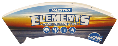 "ELEMENTS® Cone Tips ""Maestro"" King Size 32 Blatt / 1er (Zigarettenfilter)"