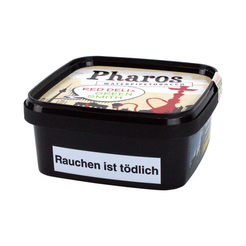 PHAROS Tobacco - Red Deli & Green Smith, 200g (Wasserpfeifentabak)