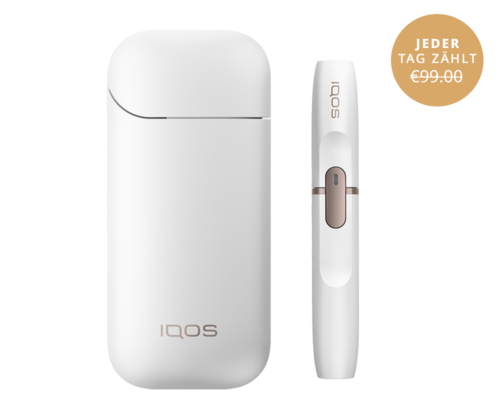 IQOS KIT 2.4 PLUS - White (Tabakerhitzer)